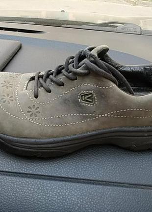 Кроссовки туфли кожа keen америка