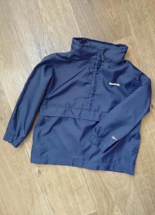 Reebok ветровка, дождевик, куртка, курточка, олимпийка