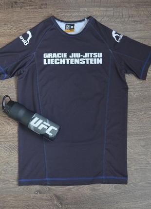 Оригинальная компрессионная футболка  manto ® men's jiu-jitsu sleeve t-shirt