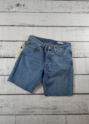 Шорты голубые джинсовые selected homme