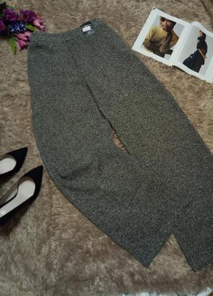Трендовые широкие брюки кюлоты