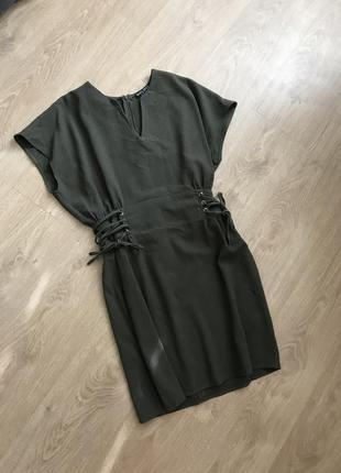 Платье хаки select цена 120!!!только 2 часа