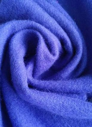 Теплый ,приятный,шарф, фиолетового цвета, 100% шерсть р. 31 х 155 см., германия