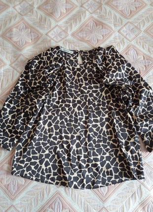 Классная блуза zara из последних коллекций
