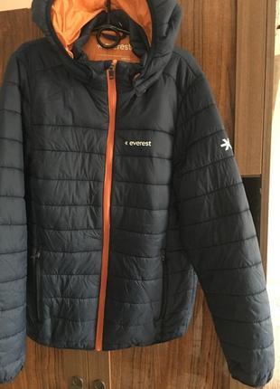 Классная легчайшая и тёплая курточка  158/164