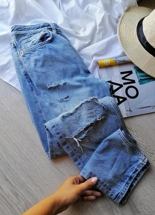 Мом джинсы boyfriend jeans denim co