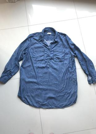 Брендовая  рубашка-туника