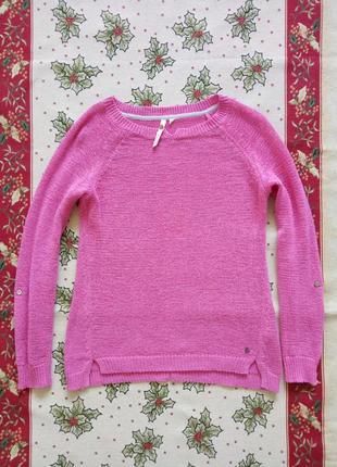 Свитер розовый кофта
