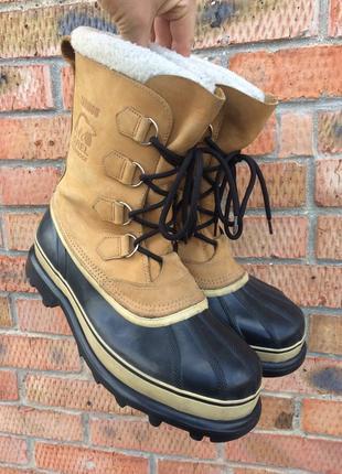 Ботинки снегоступы sorel caribou размер 44