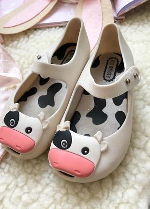 Mini melissa очень красивые туфельки