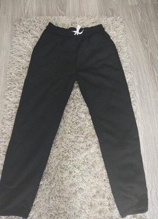 Теплые, зимние штаны с начесом(байка) casual