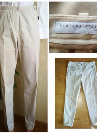 Стильные брюки fabiana filippi, brunello cucinelli,р.40