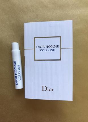Dior homme cologne одеколон пробник