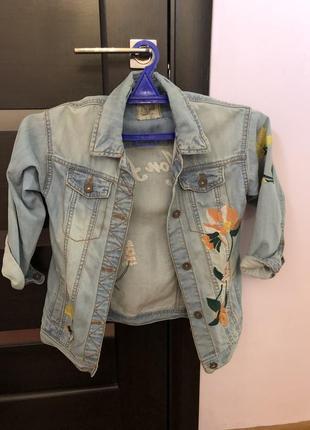 Куртка джинс next детская
