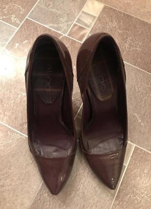 Туфли aldo кожа