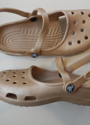 Кроксы crocs 7w 24, 5см