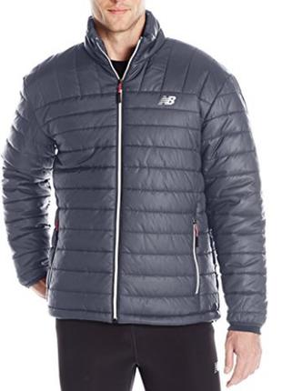 Мужская зимняя куртка new balance. оригинал