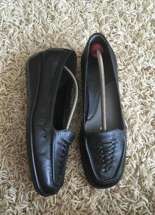 Туфли кожаные footglove