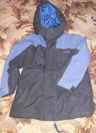Курточка теплая 3 4 года