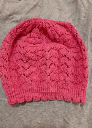 Легкая шапка панамка
