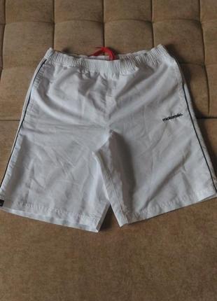 Белые шорты плавки mckenzie, р.l