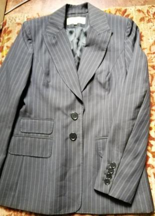 Karen millen шерстяной костюм пиджак брюки.