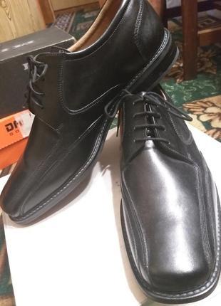 Туфли из натуральной кожи, 46 размер из голландии