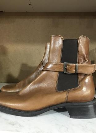 Стильные кожаные ботинки  flic en flac italy 37