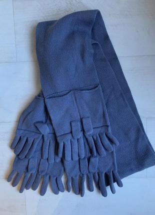 Брендовый шарф mark jacobs