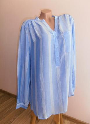 Стильная блуза в полоску  h&m