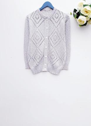 Винтажный свитер на пуговицах стильный свитерок