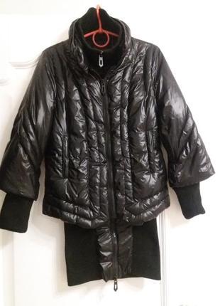 Дизайнерский французский пуховик faith connecxion, куртка-пальто