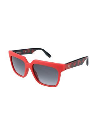 Новые солнцезащитные очки alexander mcqueen красные с ласточками