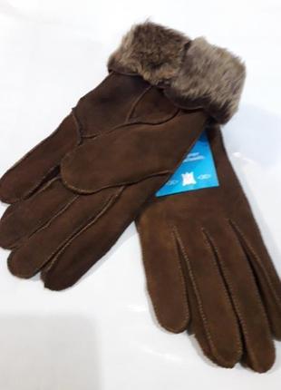 Перчатки  зимние женские.