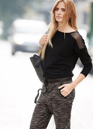 Черная интересная блуза esmara германия