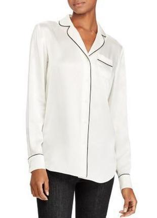 Шёлковая рубашка в бельевом стиле ralph lauren