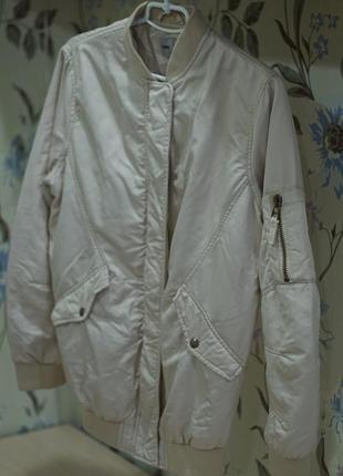Куртка бомбер - пилот бомпер asos