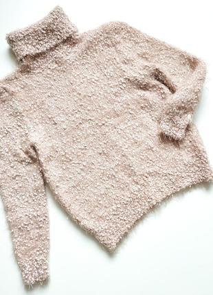 Мягкий пудровый свитер от  peacocks