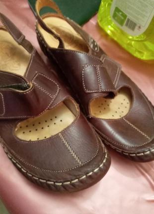 Туфли туральная кожа