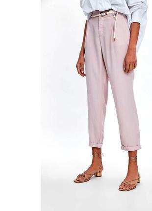 Легкие летние брюки zara