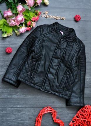 Классная куртка кож зам f&f 12-18месяцев