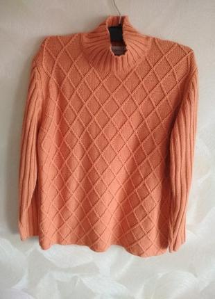 Теплый свитер,пуловер,свитшот fabiani
