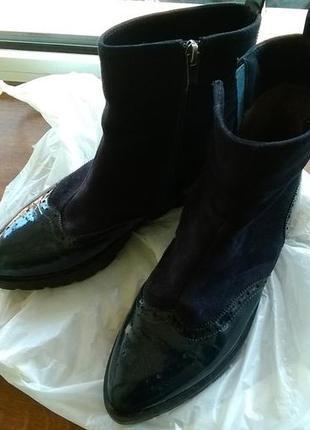 Шикарные ботинки полусапожки лоферы оксфорды