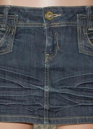 Юбка джинсовая yes 8 р