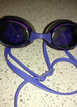 Фирменные очки для плавания