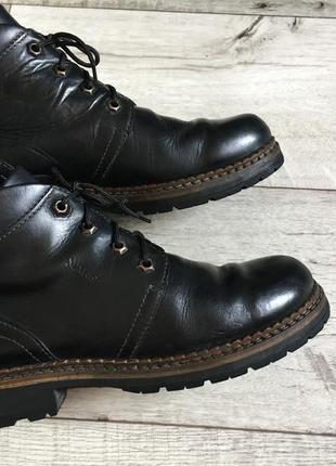 Ботинки мужские marc 24.5см натур.кожа