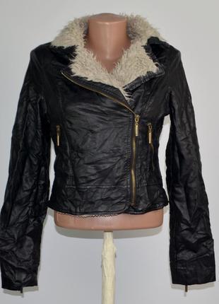 Стильная женская куртка косуха lipsy 10р
