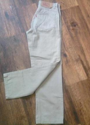 Фирменные джинсы levi strauss