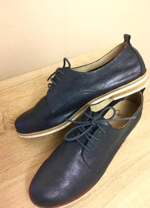 Туфли дерби женские