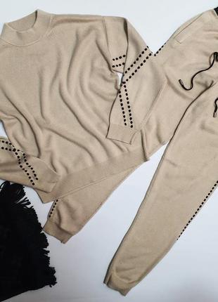 Кашемировый костюм размер m-l
